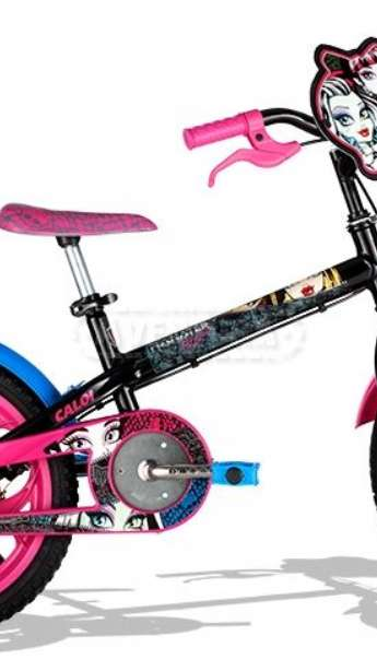 BICICLETA CALOI MONSTER HIGH - ARO 16