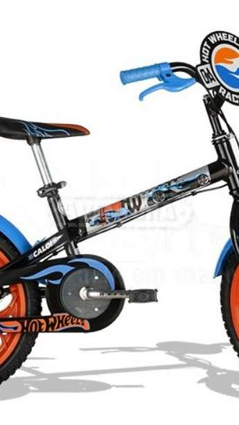 BICICLETA CALOI HOT WHEELS ARO 16